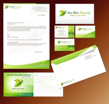 Stationery Design by enafor