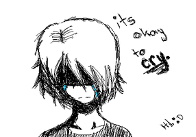 It's Okay to Cry by Heddah