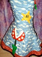 Mario Dress side view by Alien-Phant