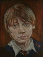 Ron Weasley by LoonaLucy
