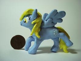Derpy Hooves Figurine by KatRaccoon