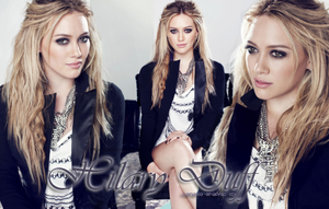 Hilary Duff by OttyPink