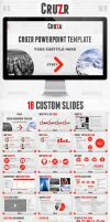 Cruzr PowerPoint Template by tangz989