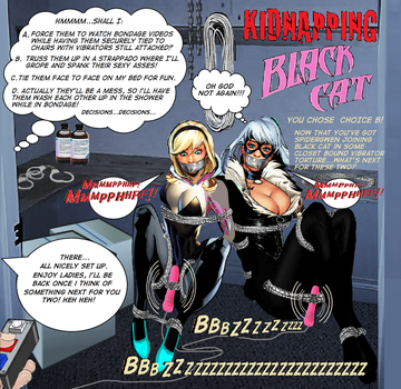 Kidnapping Black Cat: You Chose Choice B! by Damselfiend