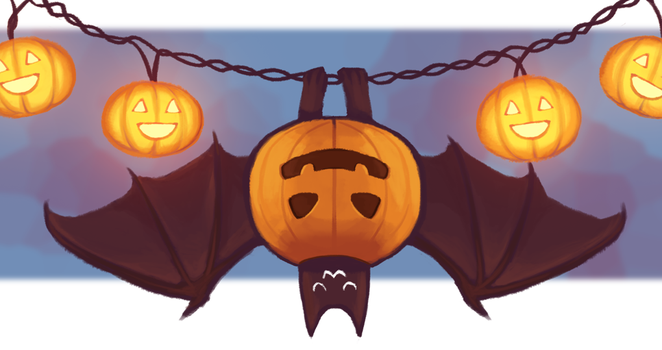 Pumpkinbat by life-take