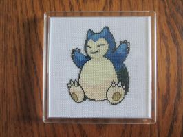 #143 Snorlax by luna-notte