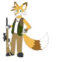 Strafe the Fox by milesprower99