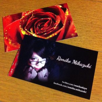 New Business Card for Remiko by remino