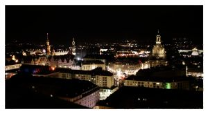 dresden at night by ezoog