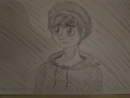 I Drew a Selfie by constantlyBuzzing