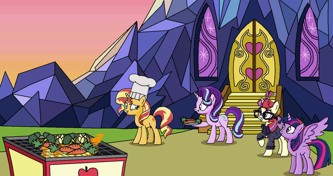 Sundown Cookout by EmeraldBlast63