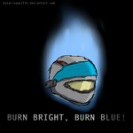 Burn Bright, Burn Blue, Bungie by KatarinaWolffe