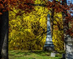 Fall Cemetery III by redwolf518