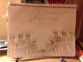 RvB/RWBY: We'll remember you always  by sketchingchaos