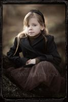 5 years old portrait by Aixchel