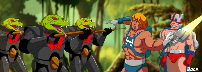 Wave 88 Filmation Style by MikeBock