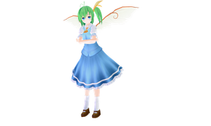 [MMD] Daiyousei [touhou project] by Staifia