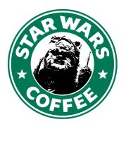 Starbucks Ewok by theCrow65