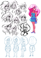 Jem Pitch: Jem Concepts by peach-mork