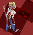 My body is ready [APH fanart] by DecapitatedGuts