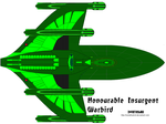 Romulan Honourable Insurgent Warbird by SovietHybrid