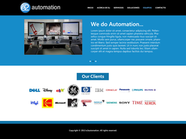 e2 Automation WebSite by Garbo-X
