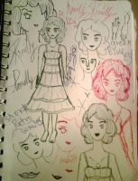 Concept sketches of Romilly by MeadowOfTime
