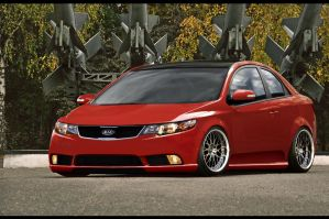 Kia Cerato by dxprojects