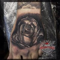 Sureno Realistic Rose by HammersmithTattoo