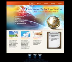 ITS website concept layout by manteraku