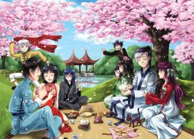 LoX AB: Plum Blossoms by Lo-wah