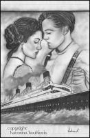 Titanic -OLD Drawing by Katerina-Art