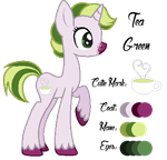 MLP:Tea Green Profile by kiananuva12