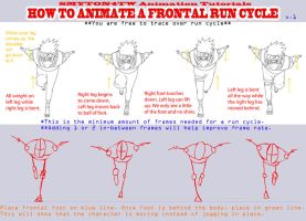 Run Cycle Tutorial by Smyton4tw