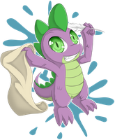 Spike by zaiyaki