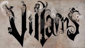 Disney Villains on Canvas by MattesWorks