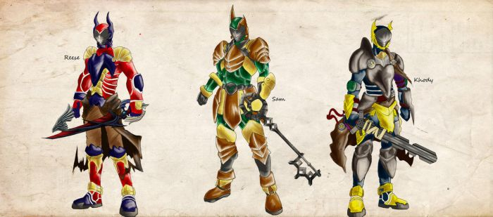 Biesta KeyBlade Masters by SpeakKhody