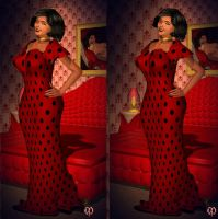 Pandora S Dotty Dress By Chronophontes by 3dpinup