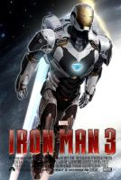 Iron Man 3 Poster Deep Space Suit Ver. by TouchboyJ-Hero