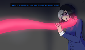 fake screenshot Glitchtale by A-wild-Rin-appeared