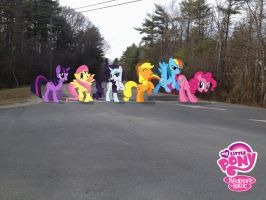 Norwell Invaded with Ponies by bosoxboy521