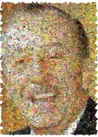 Walt Disney Mosaic by Cornejo-Sanchez