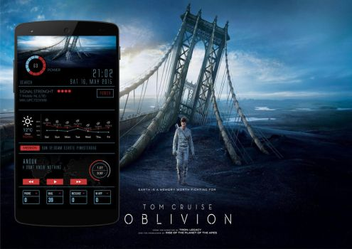 Oblivion Movie android theme by homebridge