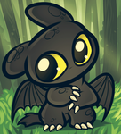 Chibi Toothless, How to Train Your Dragon by Dragoart