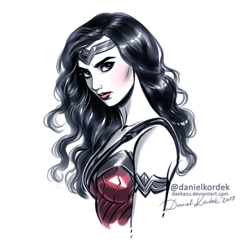 Wonder Woman by daekazu