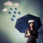 32: Rain in my head... by ilovestrawberries