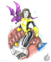 Kitty Pryde by Iconograph