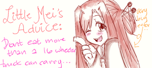 little mei's advice by chiihime-chan