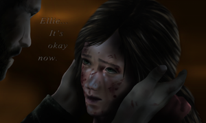 Joel and Ellie - It's okay by SaSuRaLoVe