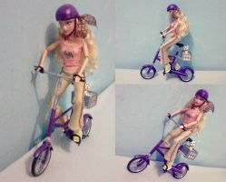 My Scene Ride A Bike by seawaterwitch